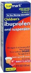 sunmark® Ibuprofen Oral Suspension