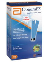 Abbott Optium EZ® Blood Glucose Test Strips