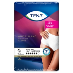 Tena® Women™ Super Plus Heavy Absorbent Underwear, Extra Large