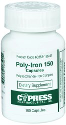 Cypress Pharmaceutical Poly-Iron 150