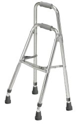 drive™ Side Walker, 28.5 - 35.5 in., Gray, 300 lbs. Capacity, Aluminum