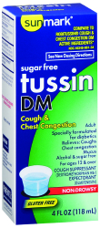 Sunmark® Sugar Free Tussin DM Cough Relief