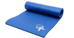 CanDo® ArmaSport® Sup-R Mat® Exercise Mat, 72 in. L x 24 in. W, Blue, Rubberized Foam