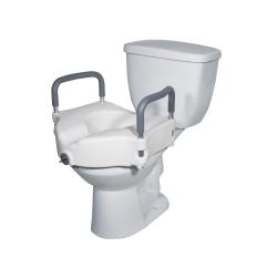 Drive™ 2-in-1 Locking Raised Toilet Seat
