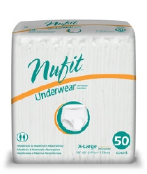Nu-Fit® Absorbent Underwear