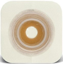 Sur-Fit Natura® Durahesive® Skin Barrier With 7/8-1¼ Inch Stoma Opening