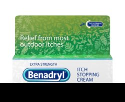 Benadryl® Itch Relief Cream, Extra Strength, 1 oz. Tube