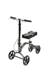 drive™ DV8 Knee Walker, 33 - 37.5 in., Silver Vein, 300 lbs. Capacity, Aluminum