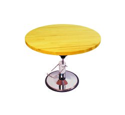 Hi-Low Work Table, 48 in. Diameter