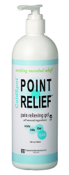Point Relief® ColdSpot™ Topical Pain Relief, 16 oz. Tube