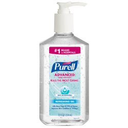 Purell® Gel Hand Sanitizer 12 oz. Pump Bottle