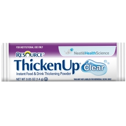 Resource® Thickenup® Clear Food and Beverage Thickener, Unflavored, 1.4 Gram Packet