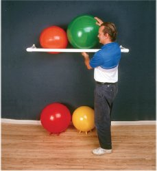 Inflatable Exercise Ball PVC Wall Rack