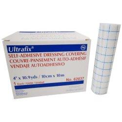 Ultrafix® Nonsterile Self-Adhesive Dressing Retention Tape, 4 Inch x 11 Yard, White