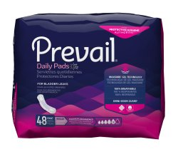 Prevail Bladder Control Pads, Maximum Absorbency, Regular Length
