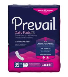 Prevail Bladder Control Pads, Maximum Absorbency, Long Length