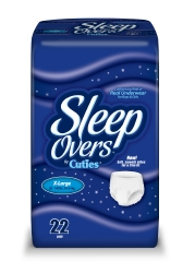 Cuties® Sleep Overs® Absorbent Underwear
