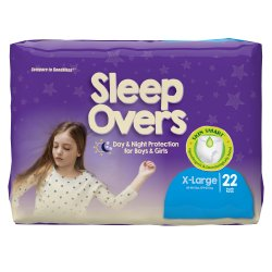 Cuties® Sleep Overs® Absorbent Underwear, Extra Large