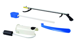 FabLife™ Hip Kit with 26 Inch Reacher and 18 Inch Plastic Shoehorn