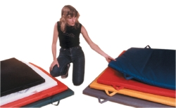 CanDo® EnviroSafe® Exercise Mat, 48 in. L x 48 in. W, Multiple Colors, Foam