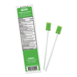 Toothette® Plus Swabs with Antiseptic Oral Rinse