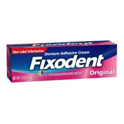 Fixodent® Original Denture Adhesive