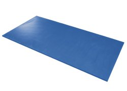 Airex® Hercules Exercise Mat, 78 in. L x 39 in. W, Blue, Foam