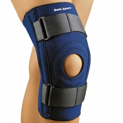 SAFE-T-SPORT® Knee Support, Medium, 16 - 17 Inch Knee Circumference