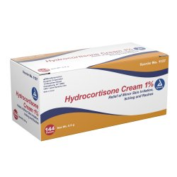 dynarex® Hydrocortisone Itch Relief, 144 Packets per Box