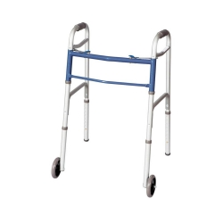 Carex® Classics Dual Button Walker with Wheels