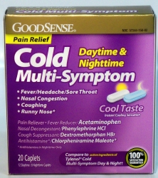 GoodSense® Cold Relief