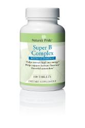 Nature's Pride™ Super Vitamin B Complex with Vitamin C