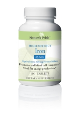 Natures Pride™ Iron Supplement