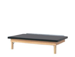 Fabrication Wall Mounted Upholstered Mat Platform Table