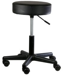 Fabrication Enterprises Backless Exam Stool, 350 lbs. Capacity