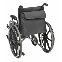 Mabis® Wheelchair Bag, For Use With Wheelchair, 14 in. W x 19 in. L, Nylon