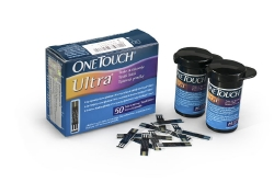 OneTouch® Ultra® Blue Blood Glucose Test Strip