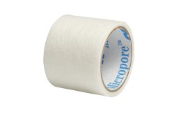 3M™ Micropore™ Plus Tape, 1 Inch x 1½ Yard