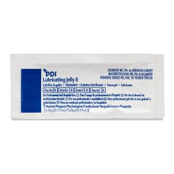 PDI® Lubricating Jelly, 5 Gram Packet