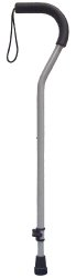 drive™ Offset Aluminum Cane with Tab-Loc Silencer