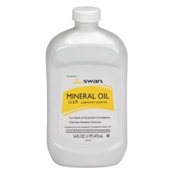Swan® Mineral Oil Laxative, 1 Pint
