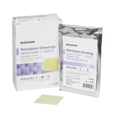 McKesson Xeroform Sterile Bismuth Tribromophenate Petrolatum Dressing, 2 x 2 Inch