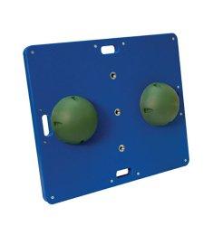 CanDo® Heavy-Duty Balance Boards, 18 in. L x 15 in. W x 2 in. H