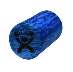CanDo® Round Roller, EVA Foam, 6 in. Dia. x 12 in. L, Blue
