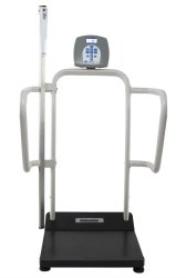 Health O Meter® Digital Platform Scale with Height Rod