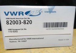 VWR International 82003-820