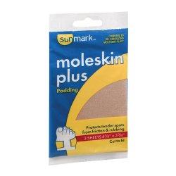 sunmark® Moleskin Protective Pad with Adhesive Backing