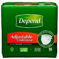 KC Depend® Absorbent Underwear