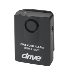 drive™ Pull Cord Alarm, For Use With Bed, Chair, 2 in. L x 2 in. W x 2 in. H, Plastic