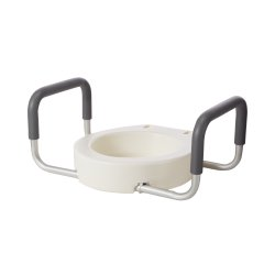 drive™ Premium Raised Toilet Seat with Removable Arms
